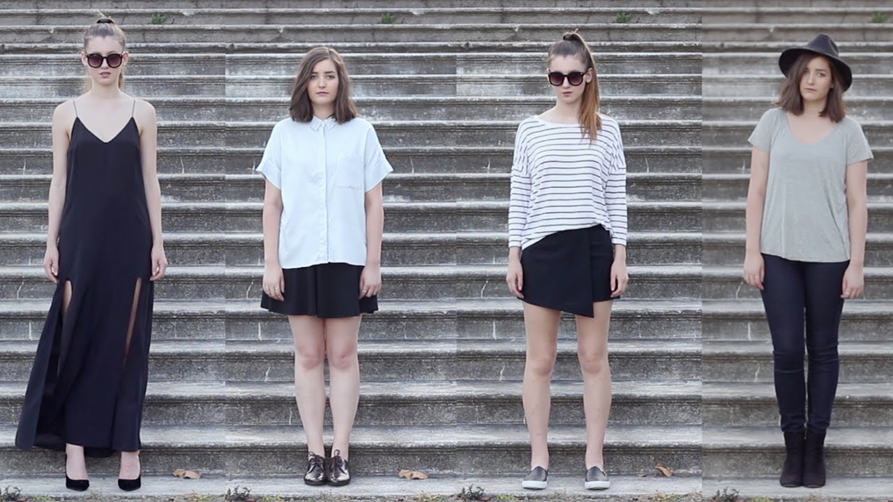 Minimalist fashion lookbook youtube for Minimalist look