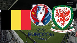 BELGIEN gegen WALES - EM 2016 FRANKREICH (Gruppenphase 1.Spieltag) ◄BEL #08►
