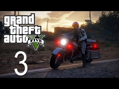 GTA 5 - LSPDFR - Episode 3 - Motorcycle Cop!