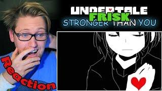 Stronger Than You (FRISK Response) REACTION! | HEART BREAKING! |