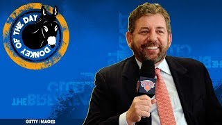 Knicks Owner James Dolan Bans 'Rude' Fan From All Games