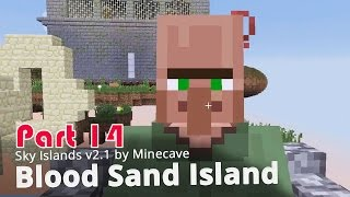 Minecraft Adventure Map - Sky Islands v2.1 - Blood Sand Island {14}