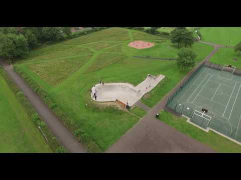 Highlights from a drone flight in Rosyth Park!