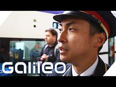 Was wir von Zügen in Japan lernen können | Galileo | ProSieben