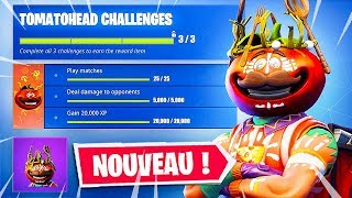 NOUVEAU SKIN MODIFIABLE GRACE AUX DÉFIS sur Fortnite: Battle Royale