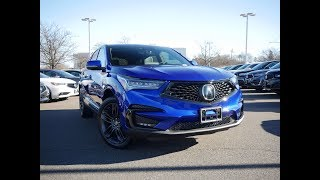 2019 Acura RDX A-Spec Review - Start Up, Revs, and Walk Around