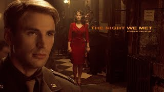Steve Rogers & Peggy Carter // The Night We Met