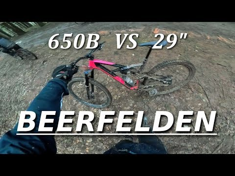 Beerfelden versinkt im Matsch | 2018er Enduro Test Bike am Start