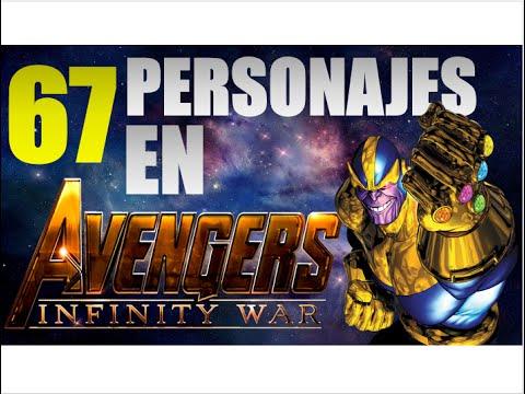 Avengers Infinity War 1 Y 2