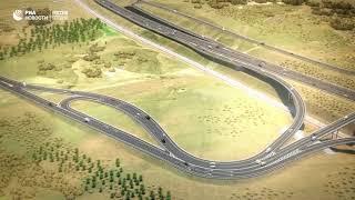 Строители Крымского моста возводят автомобильные дороги-подходы