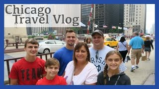 exploring chicago day one travel vlog