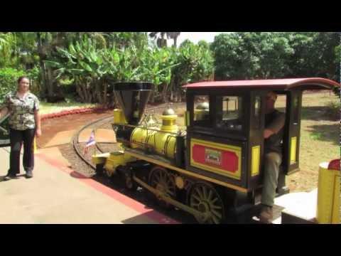 "Dole Pineapple Train ""Pineapple Express"" Hawaii"