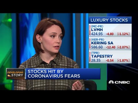 These are the biggest stocks hit by China's coronavirus outbreak