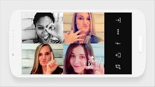 LINE - B612, Video collage selfie