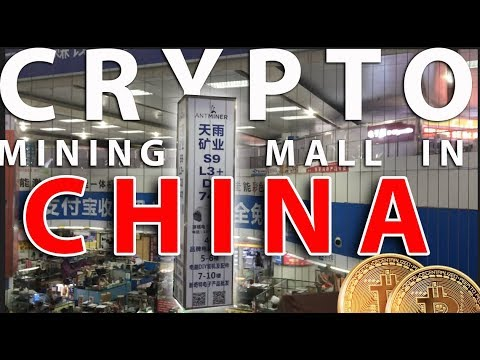 Crypto/Bitcoin Mining Shopping Mall In Shenzhen China!