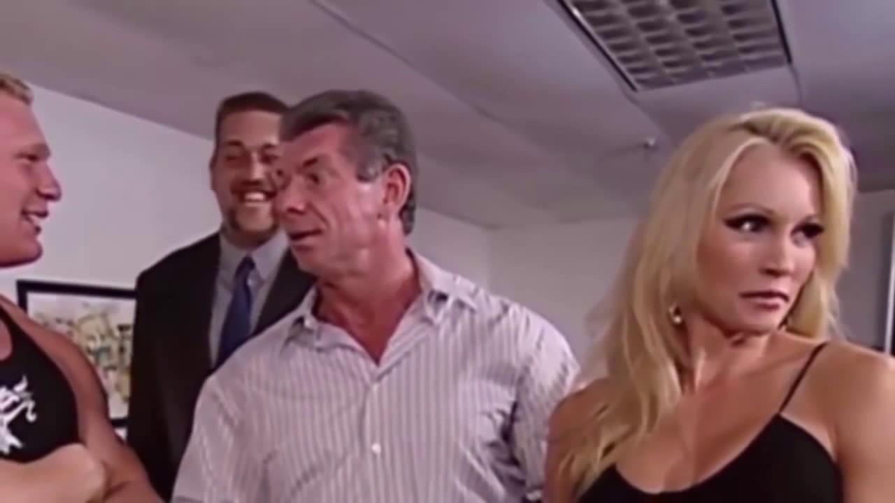 Download Stephanie McMahon VS Brock Lesnar OMG!! Match Brock Lesnar Nearly Killed Stephanie McMahon Full