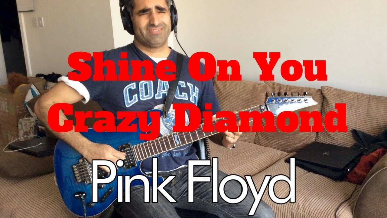 shine on you crazy diamond pink floyd acoustic cover learn guitar chords and solo youtube. Black Bedroom Furniture Sets. Home Design Ideas