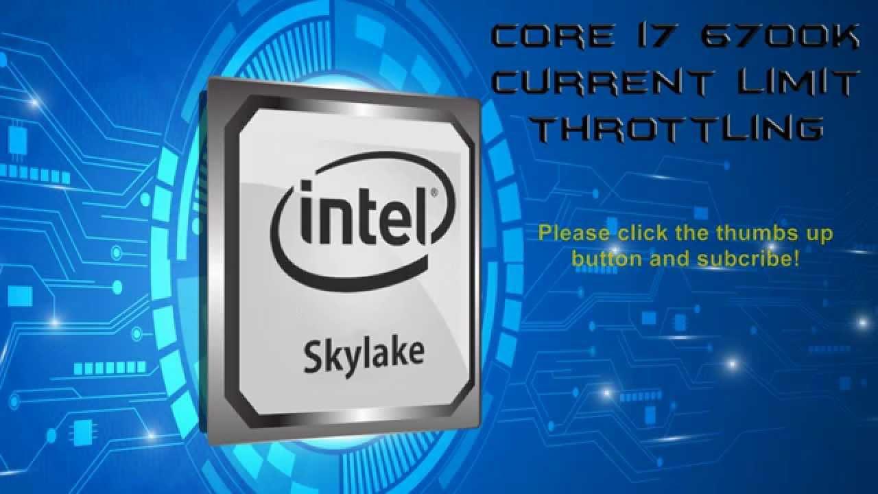 Skylake Current Limit Throttling - Defect or Design?