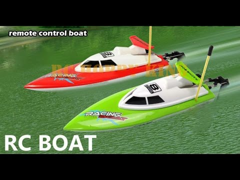 Top Race Remote Control Water Speed Boat Perfect Toy For Pools And Lakes Tr 800 Youtube