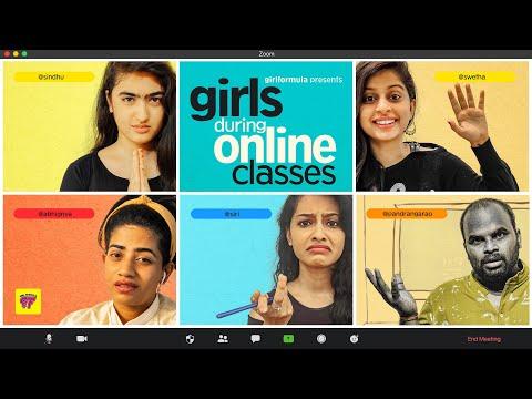 Girls in Online Classes | Girl Formula | Chai Bisket