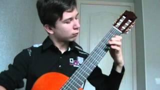 """Игра на гитаре """"Сальвадор"""""""