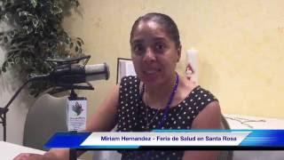 Feria de Salud en Santa Rosa de Lima - Miriam Hernandez - El Valore de la Salud-Valores Radio