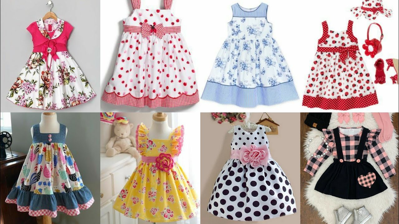 Stunning And Beautiful New Baby Frocks Latest Designs Ideas