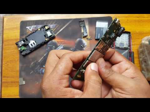 Nokia x2-00 disassembly