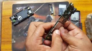 Nokia x2-00 disassembly