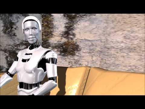 A Robot becomes Self Aware