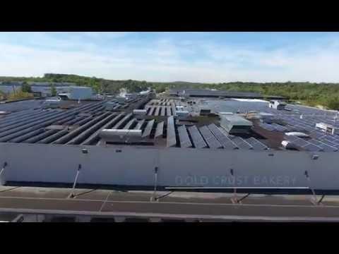 Alternative Energy Development Group: US Solar PV Project Drone Video
