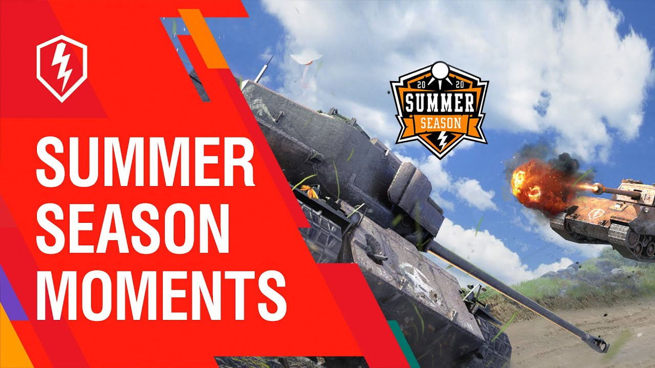 WoT Blitz. Summer Season Moments