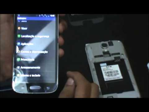 Celular Smartphone S4 Android 4.2 Tlet Quad Core 2 Chip