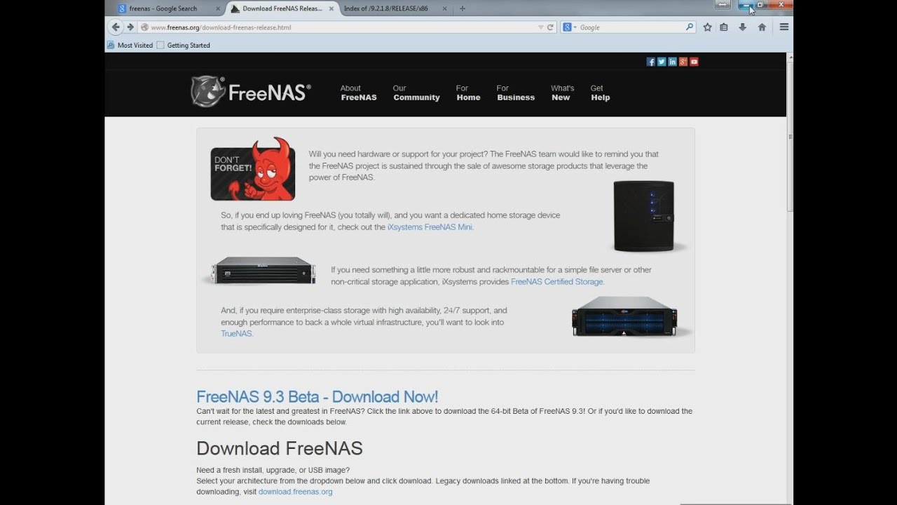 Build Raid server with Freenas software with an old PC [Part2]