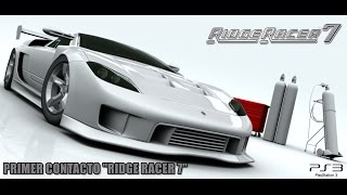 Primer Contacto: Ridge Racer 7 (Ps3, Gameplay en Español)