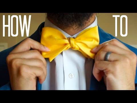 How To Tie A Bowtie For Beginners