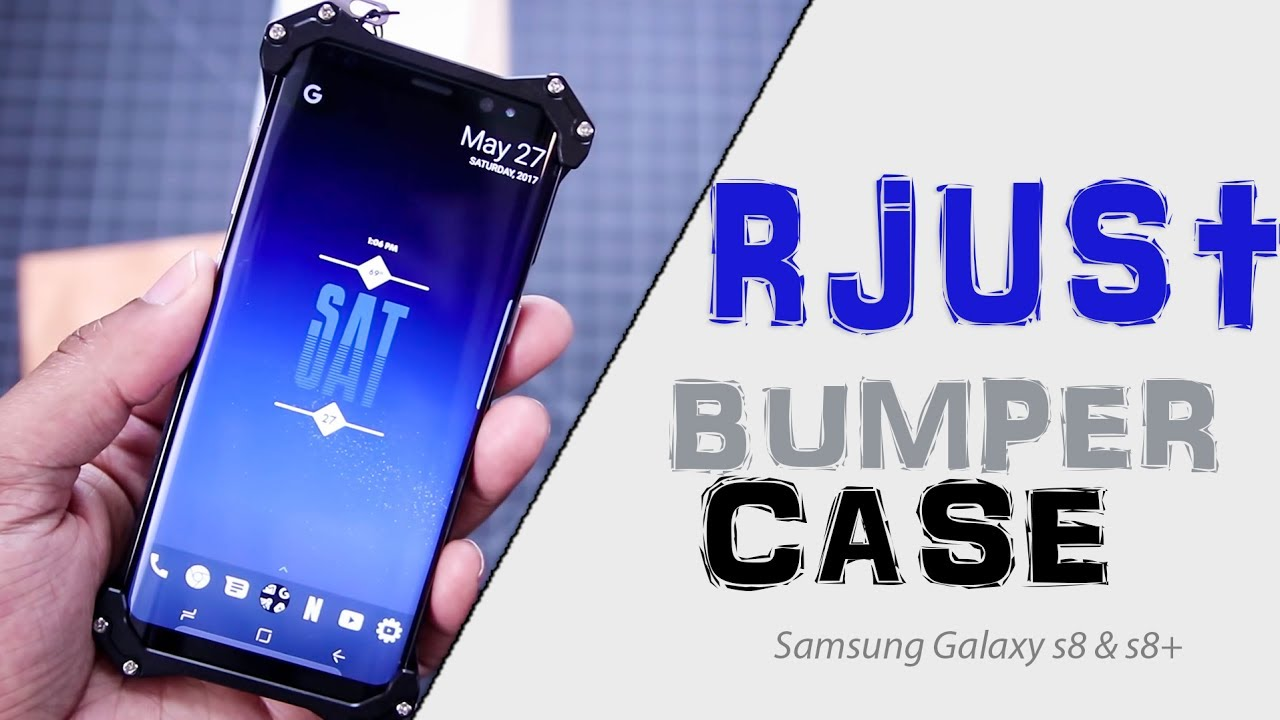 298034e47c1 R-Just Aluminum Bumper Case for Samsung Galaxy S8 and S8+ | Review ...