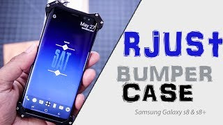 R-Just Aluminum Bumper Case for Samsung Galaxy S8 and S8+ | Review