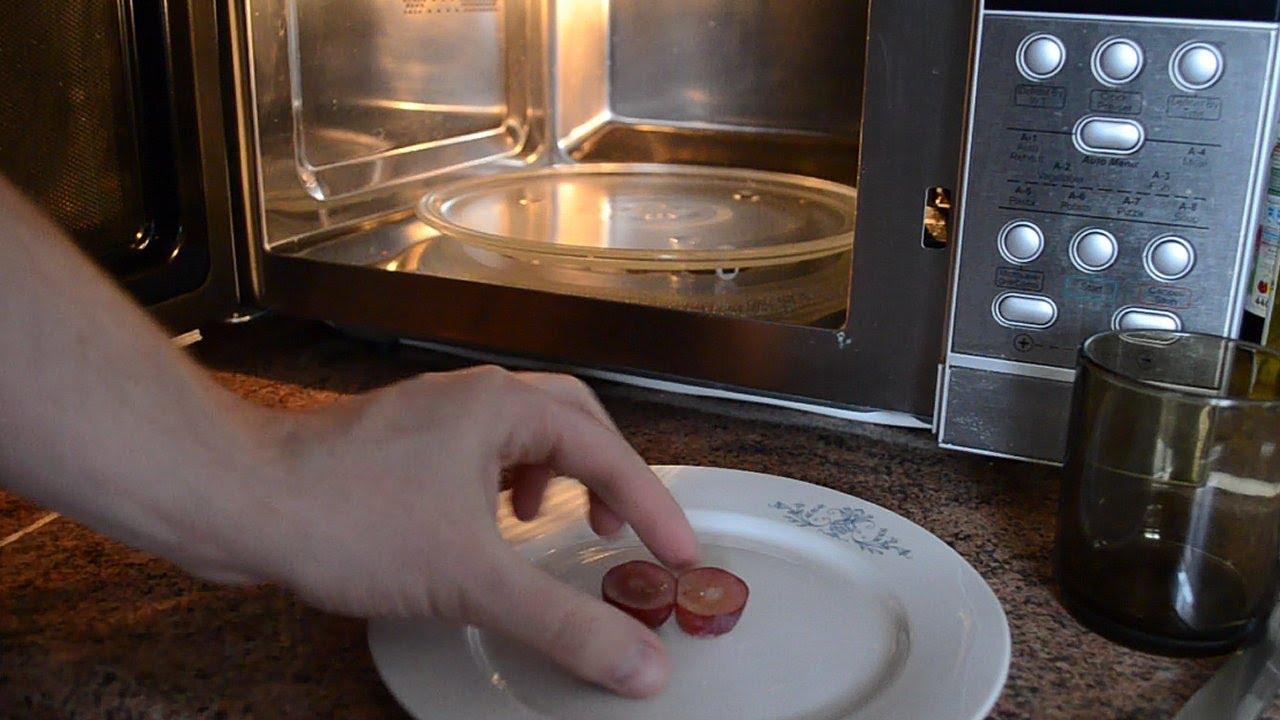 Microwavable Grape Plasma Grape Plasma In Microwave