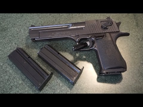 Desert Eagle .357 Magnum Tabletop Review