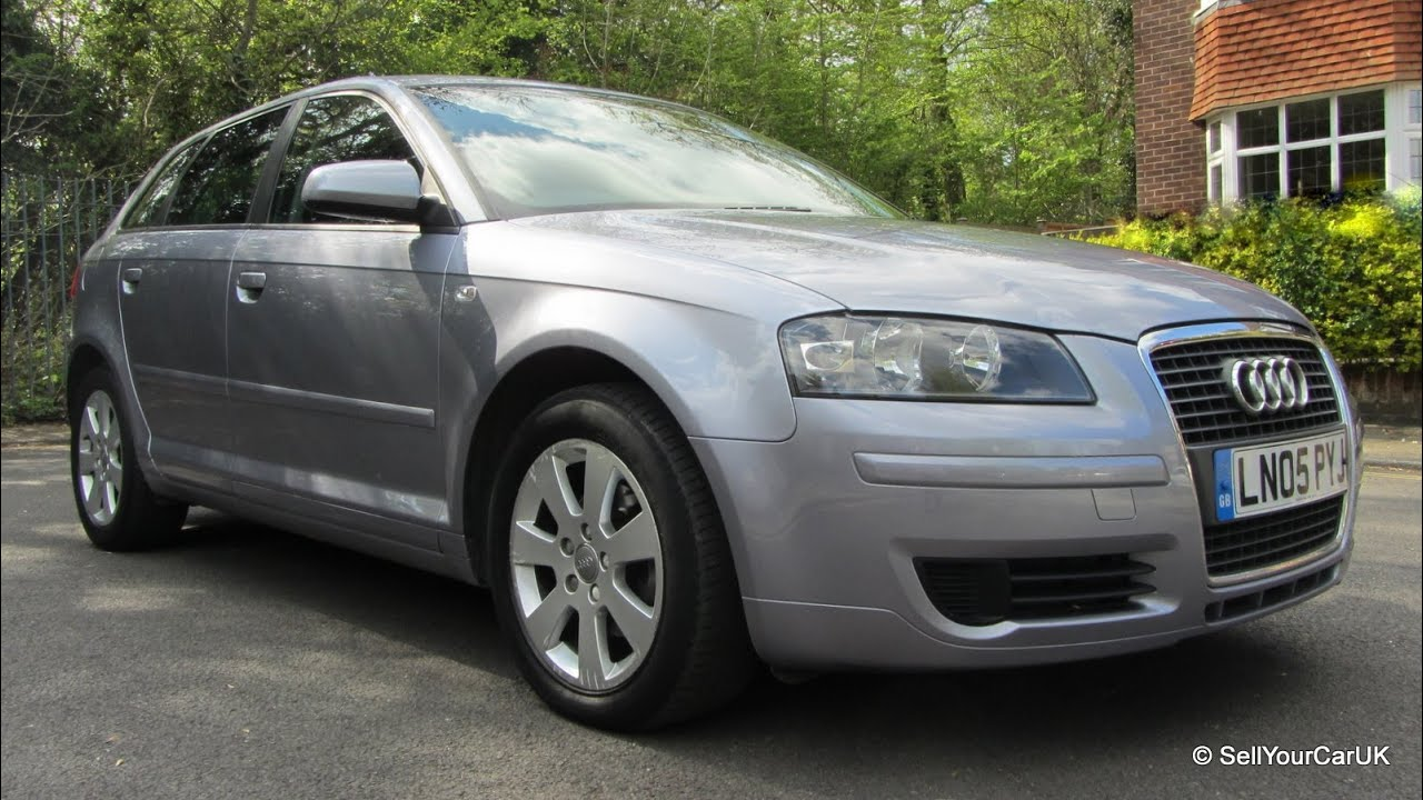 sold 2005 05 audi a3 1 6 se sportback automatic mot tax service history cambelt low miles. Black Bedroom Furniture Sets. Home Design Ideas