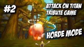 Attack on Titan Tribute Game Multiplayer | Forest 2 Horde Mode | Part 2
