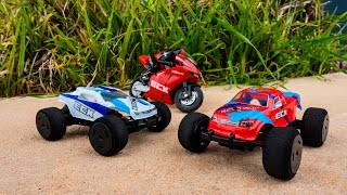 ECX Outburst, BeatBox & KickFlip RC Bike & Cars 1/36