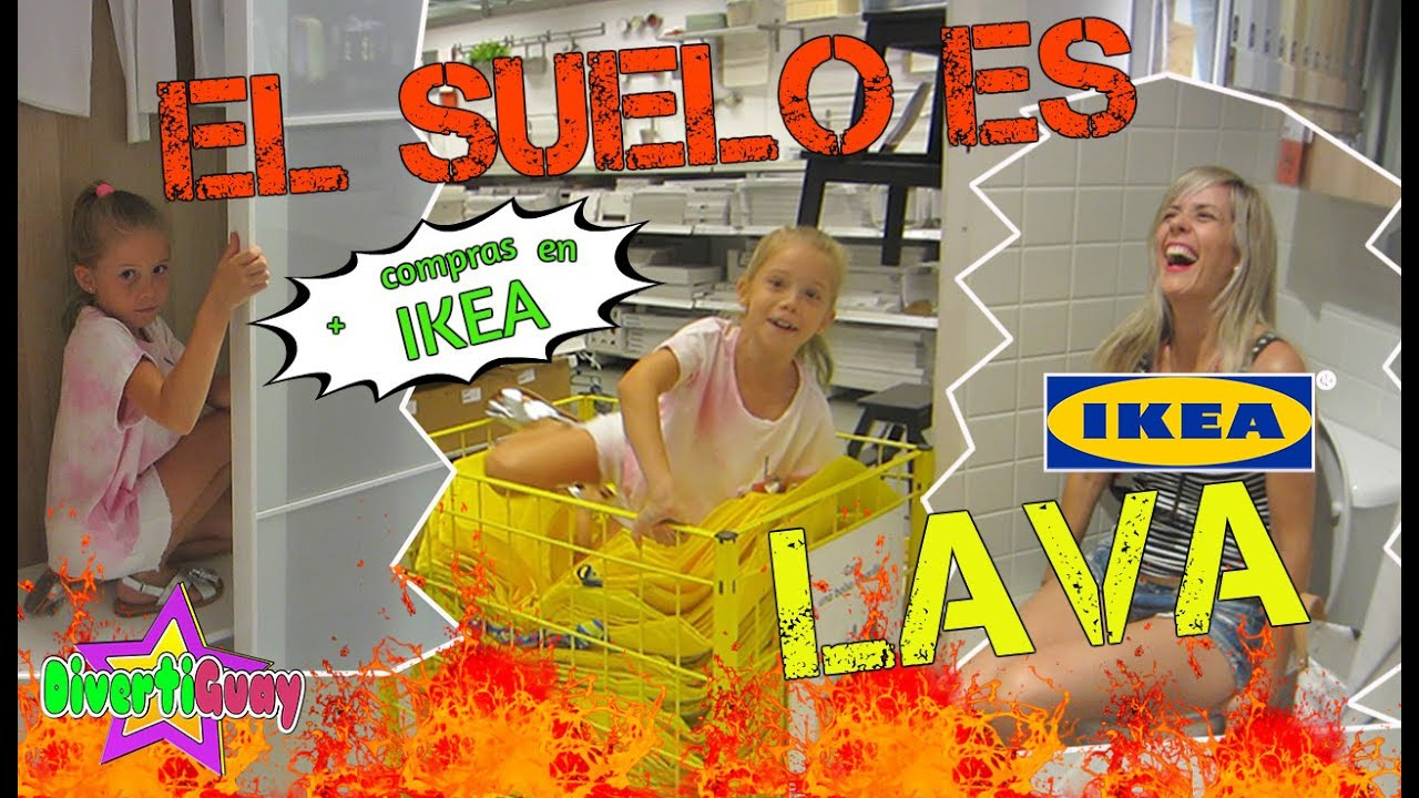 el suelo es lava challenge the floor is lava super compras en ikea divertiguay