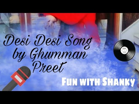 Desi desi female version ||song haryanvi by Ghummanpreetl boy@