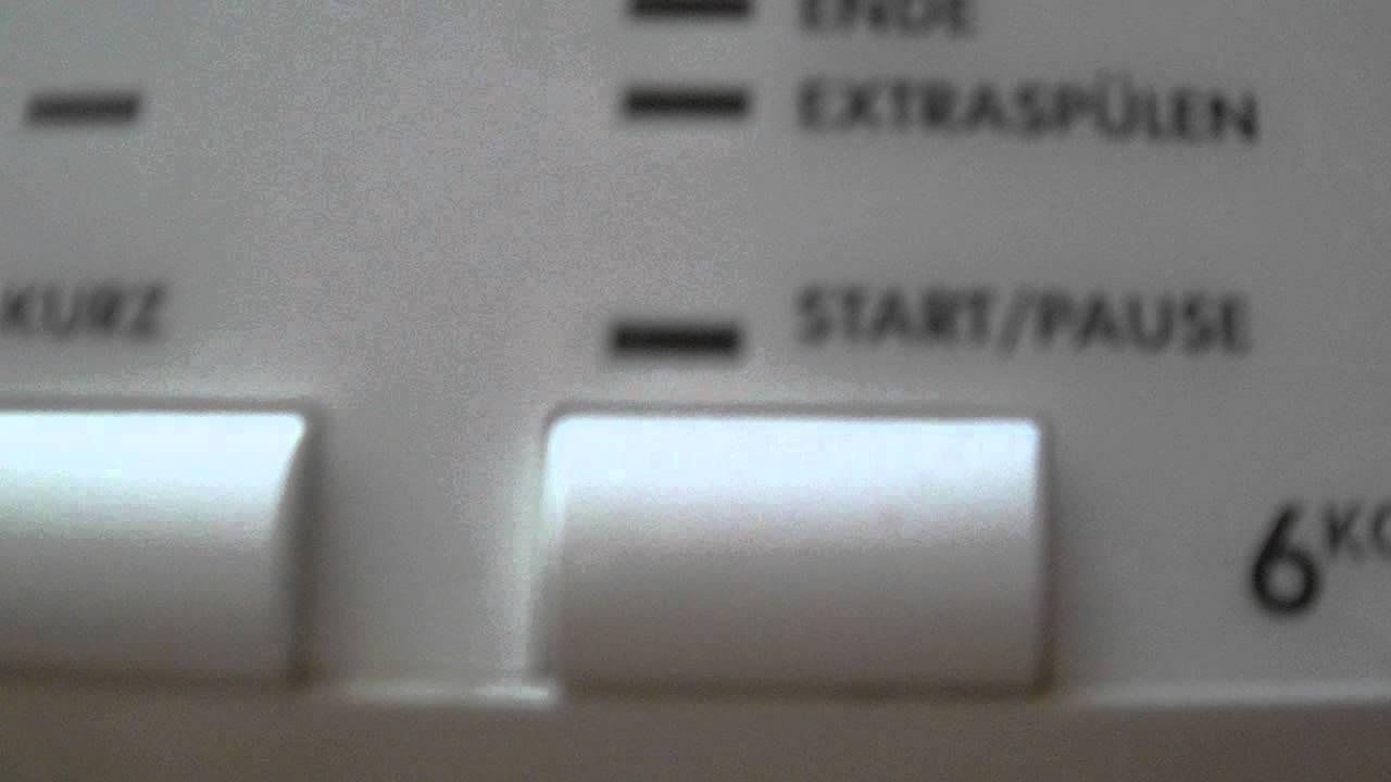 aeg waschmaschine fehlerspeicher youtube