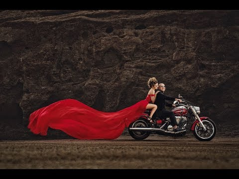 Michael Anthony creates three dramatic wedding portraits with different Profoto OCF lighting set-ups