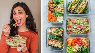 Make your lunches exciting with these healthy vegan from monday to friday. easy, delicious, budget-friendly and using just 10 main ingredients! vegan...