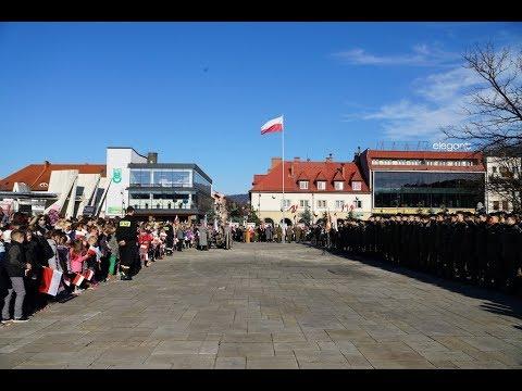 100. rocznica odzyskania niepodległości - obchody 11 listopada w Limanowej