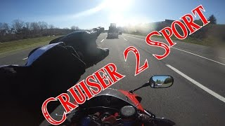 My Thoughts on Moving From Cruiser to Sportbike